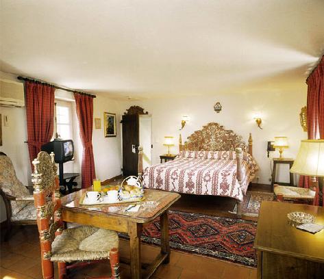 Chambre Hôtel le Hameau Saint Paul