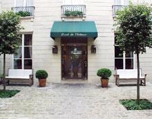 Hôtel de l'Abbaye Saint Germain Paris