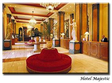 Hall Hôtel Majestic Barrière Cannes