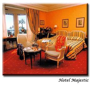Chambre Hôtel Majestic Barrière Cannes