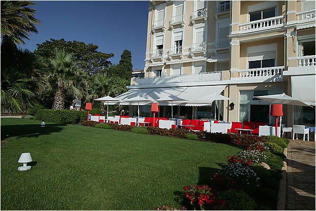 Jardin Hôtel Métropole Baulieu sur Mer