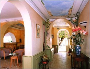 Hall Hotel Miramar Vence