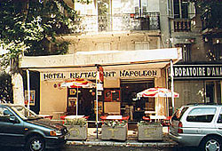 Façade Hôtel Napoléon Grasse