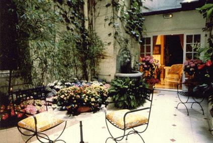 Patio Hôtel Luxembourg Paris