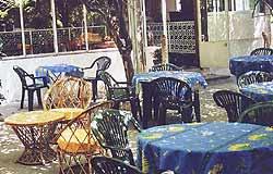 Terrasse Hôtel Paprika Antibes Juan-Les-Pins