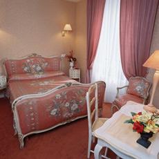 Chambre Hôtel Paris Rome Menton