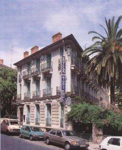 Façade Pavillon de Rivoli Nice