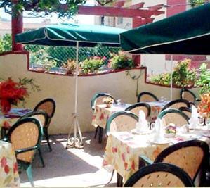 Terrasse Hôtel Provençal Villefranche sur Mer