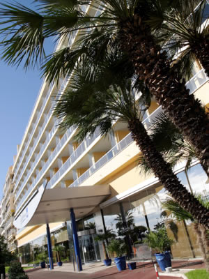 Entrée Hotel Radisson SAS Nice