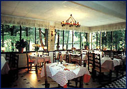 Salle Hôtel Restaurant La Chaumière Levens