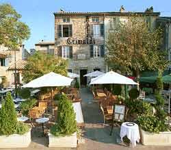 Entrée Hôtel Restaurant Le Grimaldi Cagnes sur Mer