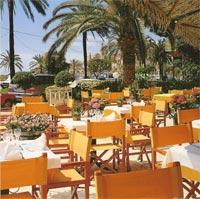 Terrasse Hôtel Restaurant Orly Menton