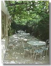 Terrasse Hôtel Villa Parisiana Mandelieu La Napoule