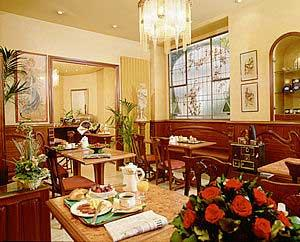 Salle petit déjeuner Hôtel des Balcons Paris
