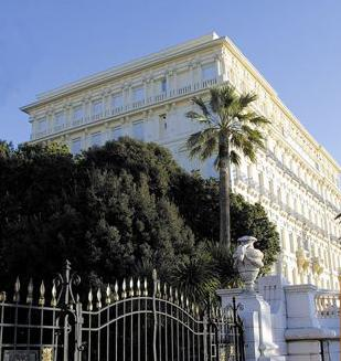 Façade Hôtel West End Nice