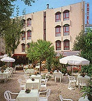 Façade Hôtel Teranga Antibes Juan Les Pins