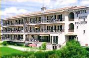 Façade Motel Ascot Cagnes sur Mer