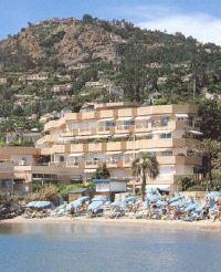 Façade Rivièra Beach Hôtel Mandelieu la Napoule