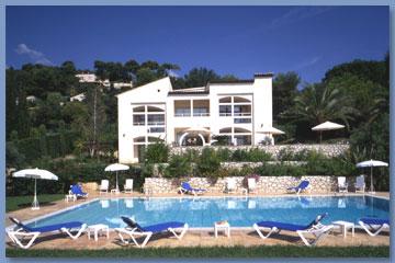 Façade Villa St Maxime Saint Paul