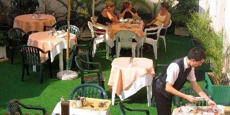 Terrasse Acropole Quality Hôtel Nice