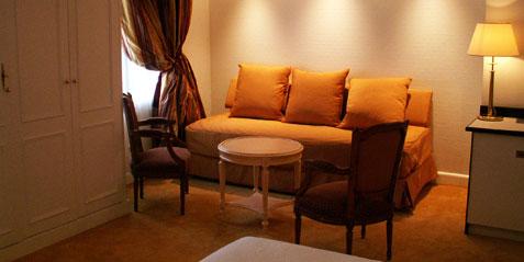 Terrasse  A l'Hostellerie le Petit Palais Nice