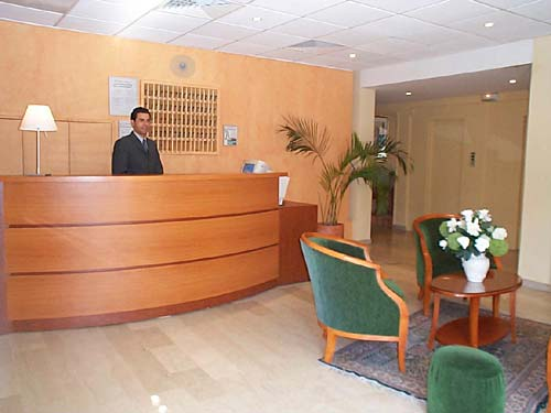 Réception Artémis Hôtel Beaulieu sur Mer