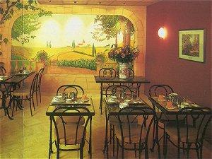 Salle petit déjeuner Hôtel Palma Paris