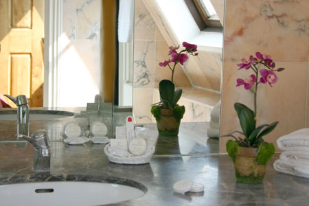 Salle de bain Hôtel des Marronniers Paris