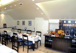 Salle petit déjeuner Hôtel de la Paix Paris