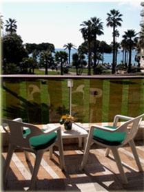 Terrasse Grand Hôtel Cannes