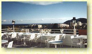 Terrasse Hostellerie Blanche Neige Mandelieu La Napoule