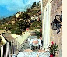 Terrasse Hostellerie de Rimplas Rimplas
