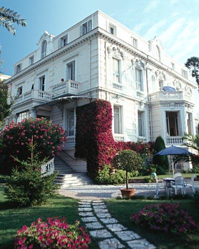 Façade Hôtel Aiglon Menton