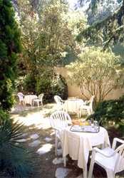 Jardin Hôtel Alexandra Roquebrune Cap Martin