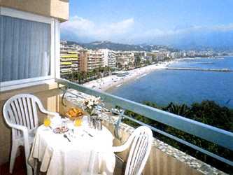 Terrasse Hôtel Alexandra Roquebrune Cap Martin