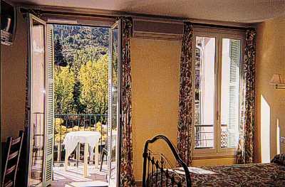Vue L'Auberge provençale Sospel