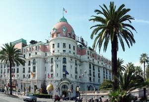 Façade HOTEL NEGRESCO Nice