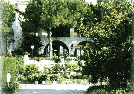 Jardin Hôtel Castel Garoupe Axa Antibes Juan les Pins