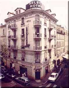 Façade Hôtel Select Cannes