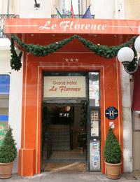 Entrée Grand Hôtel Le Florence Nice