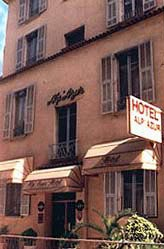 Façade Alpazur Hôtel Nice