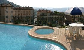 Piscine Hotel résidence des Parfums Grasse