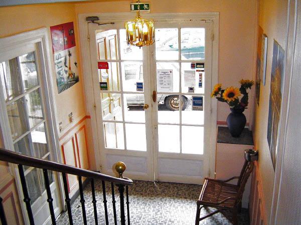 Hall d'entrée Hôtel Ermitage Paris