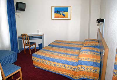Chambre Amarys Hôtel Simart Paris