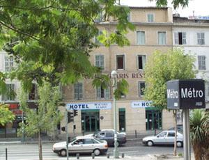 Façade Hôtel Beaulieu Glaris Marseille