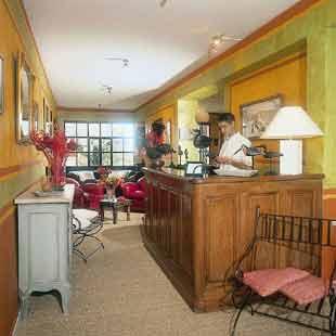 Réception Hotel Castillon des Baux Maussane les Alpilles