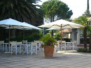 Terrasse Hôtel Ciotel Le Cap La Ciota