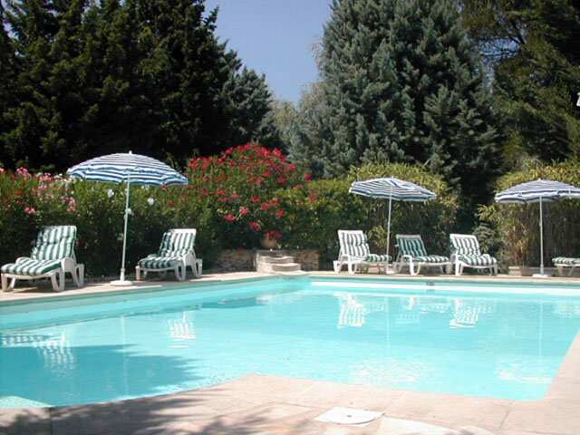 Piscine Hotel de la Caume St Rémy de Provence