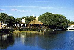 Vue Hotel du Mas de la Fouque Les Saintes Maries de la Mer