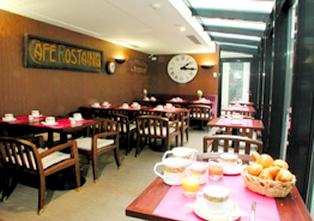 Salle de petit déjeuner Hôtel de la Jatte Neuilly sur Seine